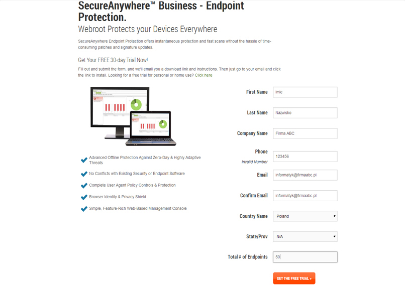 Webroot endpoint demo